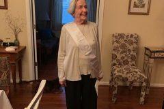 Georgette Gagnon with sash.