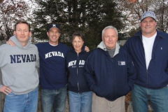 Kay with husband, Neil, and sons, Chris,Eric and Scott