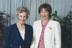 Kay and her mother Alice Gottschalk Downer